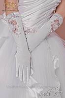 Свадебные перчатки код 57