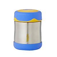 Термос для еды детский Thermos Stainless Steel Food Flask  290 мл Blue(113010), фото 1