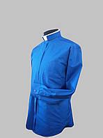 Римо-католическая рубашка синего цвета