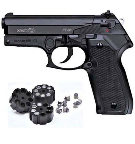 Пневматический пистолет  Gamo PT-80, фото 2