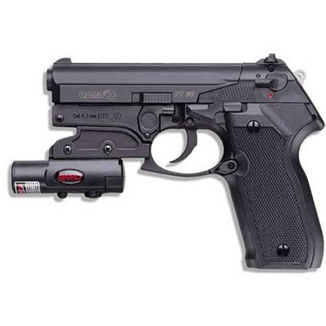 Пневматический пистолет  Gamo PT-80 Combo Laser, фото 2