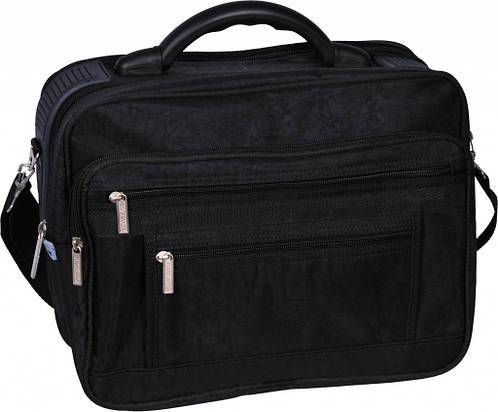 """Многофункциональная мужская сумка """"Mr.Cool"""" Bagland 25170 (черный, хаки)"""