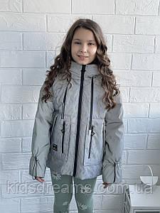 Детская демисезонная куртка на девочек