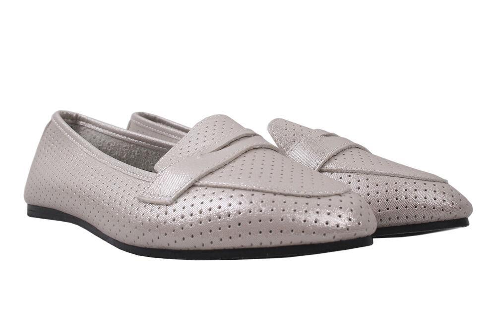 Туфлі на низькому ходу жіночі Gelsomino еко шкіра, колір бежевий