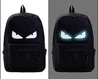 Шкільний рюкзак з ілюмінацією світиться в темряві принт., фото 1
