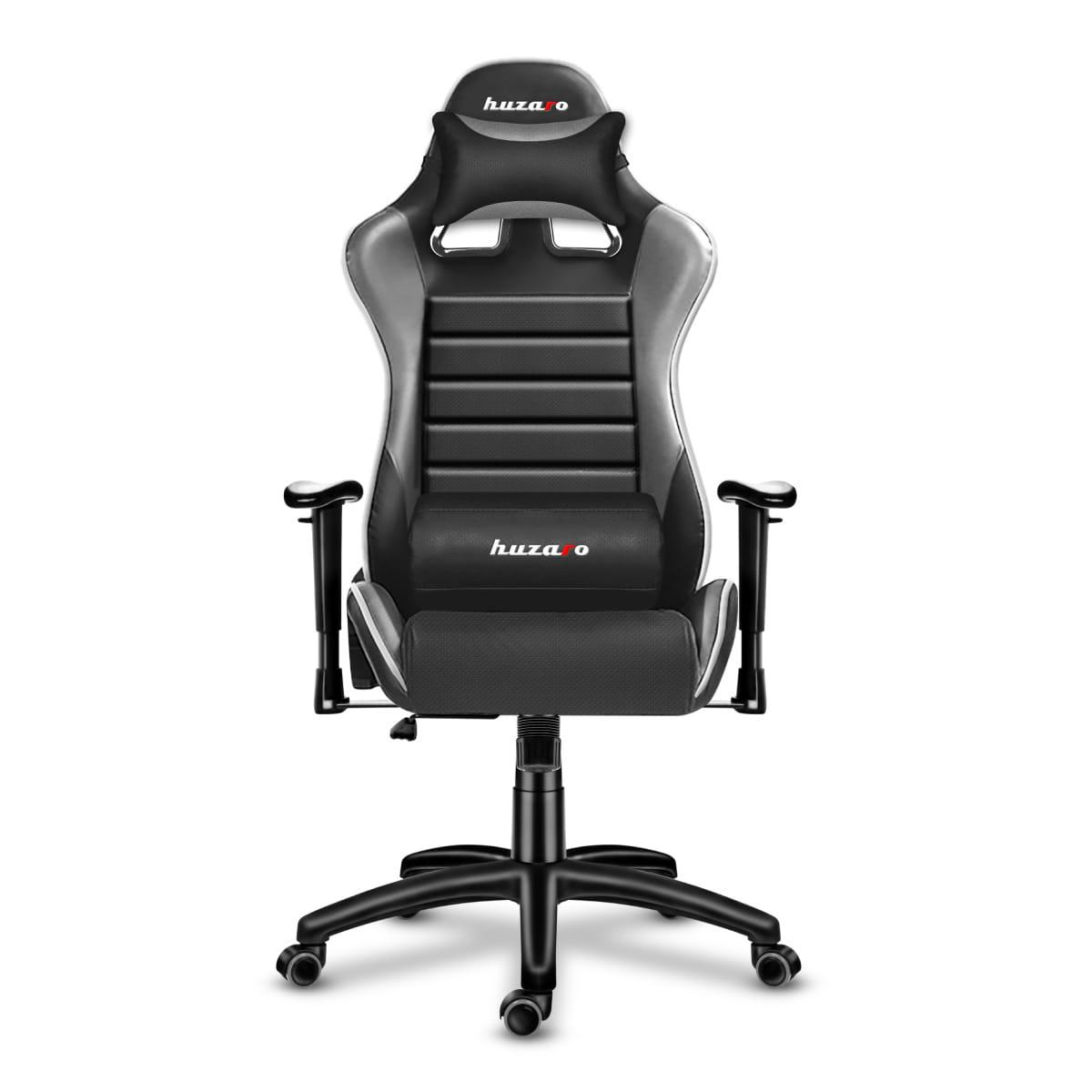Комп'ютерне крісло для геймера Huzaro Force 6.0 black-grey