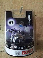 """Лампа галогеновая H7 12V 55W PX26d GigaLight +120 """"BOSCH"""" 1 987 301 110 - Корея"""