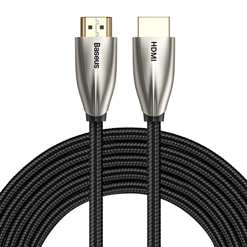 Кабель BASEUS 4KHDMI Male To 4KHDMI Male Horizontal |5M, HDMI2.0|