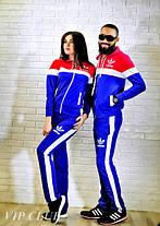 Спортивный костюм на молнии с боковыми полосками, фото 2