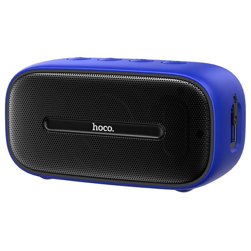 Акустика HOCO Cool Sound  sports wireless speaker BS43 |IPX7, TWS, FM/BT/AUX/USB/TF, 6Hours|