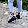Шкіряні жіночі туфлі натуральна шкіра шлейка на товстій підошві 36-23,5 37-24 38-24,5 39-25 40-25,5 см, фото 2
