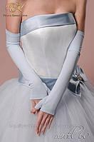 Свадебные перчатки код 60