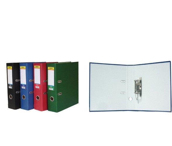Папка-регистратор Soho,  А4, 7,5см, зеленая