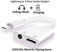 Переходник MH030 - 3.5MM AUX + ЗАРЯДКА IPhone