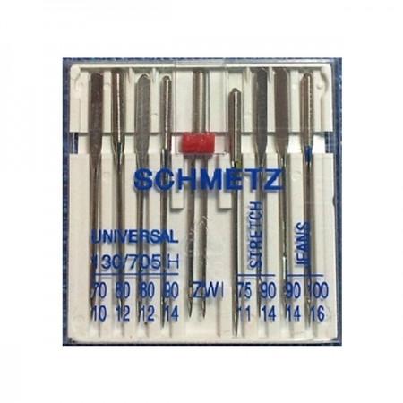 Иглы Schmetz Combi Box универсальные №70-100