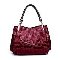 Женская лаковая сумка Zebb Ra CC5931
