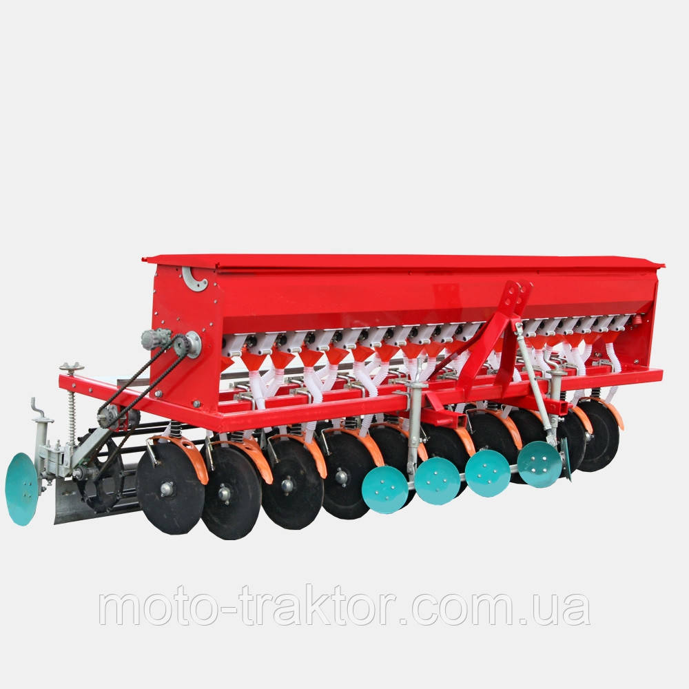 Сеялка зерновая СЗ-16 Люкс (16-ти рядная)