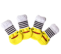 Носочки для домашних животных, размер S (2,5 см * 6 см), хлопок с примесью, тянеться + 1,5 см