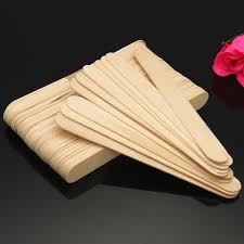Шпатель для депиляции, деревянный