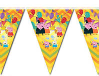 "Баннер для праздника  ""Свинка Пеппа"" 72667"