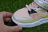 Детские демисезонные хайтопы высокие кроссовки Nike найк розовые для девочки р26-31, фото 3