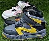 Детские демисезонные хайтопы высокие кроссовки Nike найк розовые для девочки р26-31, фото 2