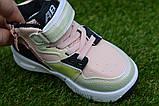 Детские демисезонные хайтопы высокие кроссовки Nike найк розовые для девочки р26-31, фото 7