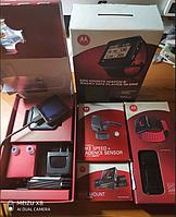 Спортивні розумні годинник Motorola MOTOACTV+плеєр 8Gb+велоаксы