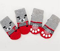 Носочки для домашних животных, размер M (3 см * 7,5 см), хлопок с примесью, тянеться + 1,5 см