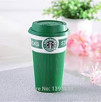 Термокружка  StarBucks 008, чашка керамическая кружка Starbucks, стакан StarBucks, кружка старбакс