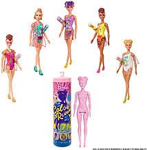 Кукла Barbie Color Reveal Летние и солнечные сюрприз GTR95