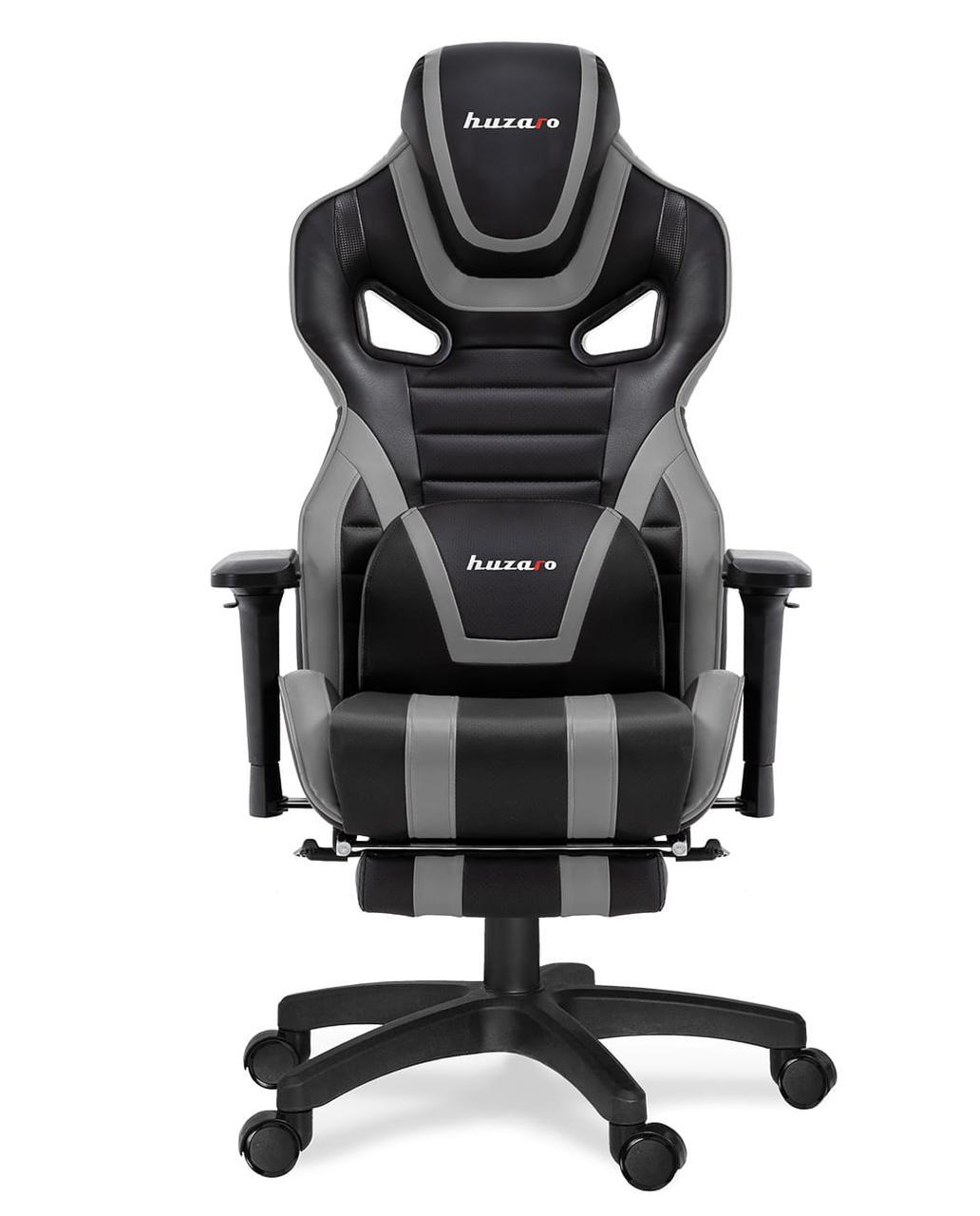 Компьютерное кресло для геймера Huzaro Force 7.5 black-grey