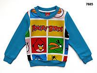 Теплая кофта Angry Birds для мальчика. 95, 100, 110, 130 см