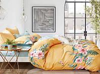 Двуспальный комплект постельного белья 180*220 сатин (16816) TM КРИСПОЛ Украина