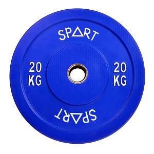 Бамперний диск Spart 20 кг