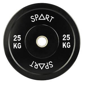 Бамперна диск Spart 25 кг