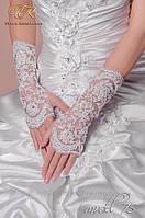 Свадебные перчатки код 75