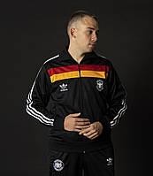 Мужской спортивный костюм адидас Гамбург Германия черный Adidas Австрия Спортивные костюмы большие размеры