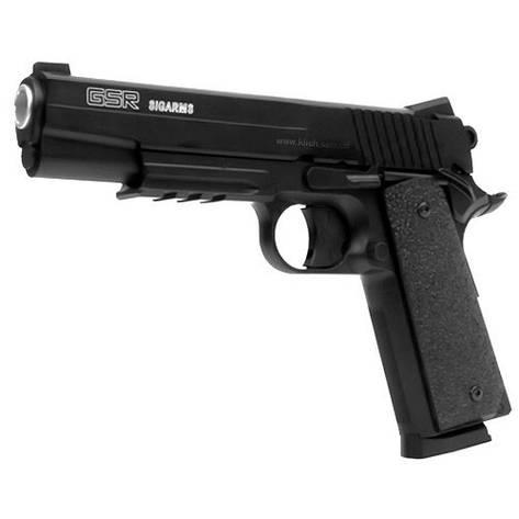 Пневматичний пістолет KWC Colt 1911, металевий, фото 2