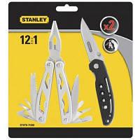 Мультитул Stanley 12 в 1 + складной нож (STHT0-71028)