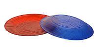Тарелка пластиковая одноразовая, многоразовая (цвет ассорти)