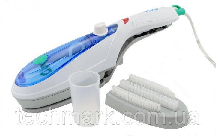 Відпарювач ручний для одягу TOBI Steam Brush, парова праска, щітка-праска ТМ