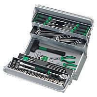 Ящик с инструментом (5 секций)  63 ед. TOPTUL GCAZ0039, фото 1