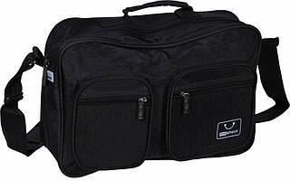 """Вместительная мужская сумка """"Mr.Swift"""" Bagland 26270 (черный)"""