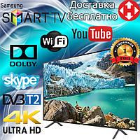 Телевизор Samsung 55 дюймов Smart TV Full HD Android WiFi Телевізор 55 Самсунг Смарт ТВ 4К