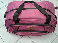 Красивая дорожная сумка из водоотталкивающей прочной ткани
