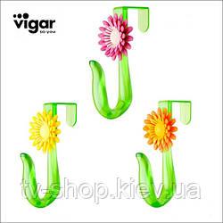 КРЮЧОК на двери flower power ,Vigar
