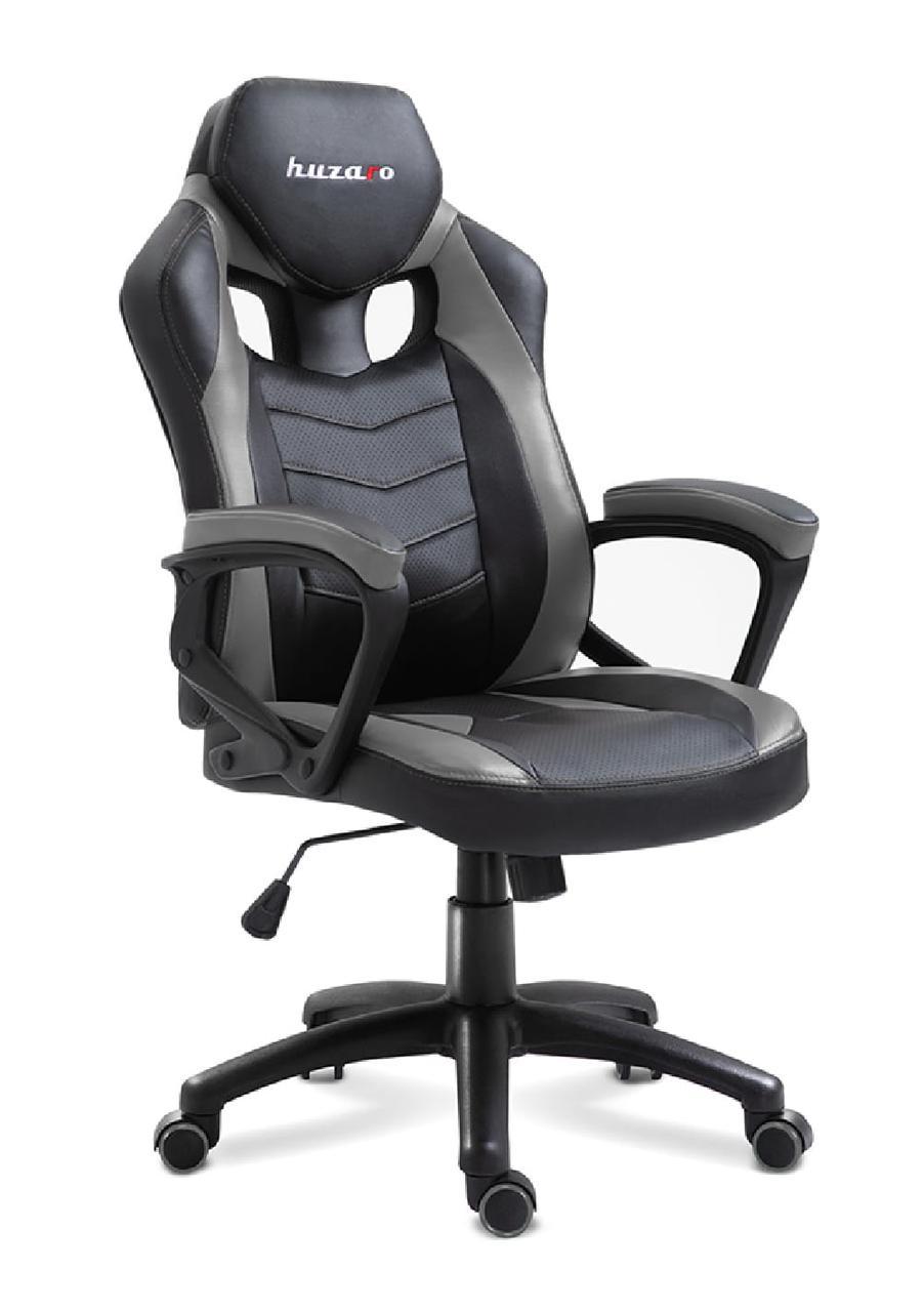 Комп'ютерне крісло для геймера Huzaro Force 2.5 black-grey
