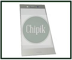Стекло для переклейки дисплея Sony Xperia XZ1 G8342 Dual, серебро