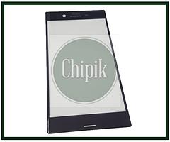 Стекло для переклейки дисплея Sony Xperia XZ F8332, F8331, черное
